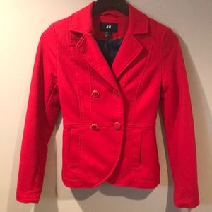 H&M Red Blazer